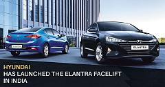 Hyundai Elantra Facelift Launched in India, Price Starts at INR 15.89 Lakh