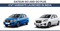 Datsun Go and Go Plus CVT Variants Launched in India