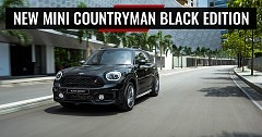 All new Black Mini Countryman priced at Rs. 42.40 Lakhs for sale in India