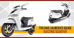 Let Us Know More About India's Near Perfect Electric Scooter - TVS iQube