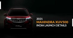 2021 Mahindra XUV500 India launch Details Revealed