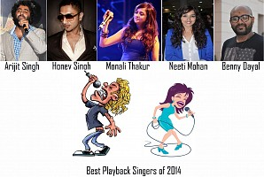 New faces of Indian Playback Singing in year 2014