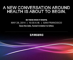 Samsung Grand Event of Health related tech will take place in San Francisco