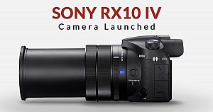 Sony RX10 IV Camera Launched With High-Speed Continuous Shooting Speeds