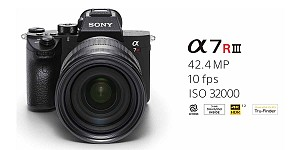 Sony A7R III Full Frame Mirrorless Camera Launched in India