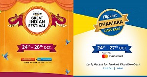 Amazon Great Indian Festival Sale and Flipkart Festive Dhamaka Sale Coming In Few Days