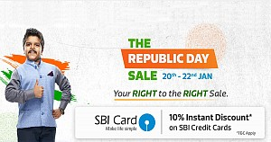 Flipkart Republic Day Sale begin on Jan 20 to 22 January 2019