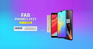 Amazon Fab Phone Fest sale starts from today with Exciting Discounts and Offers