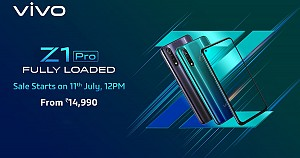 Vivo Z1 Pro with Triple Rear Camera Setup and Qualcomm Snapdragon 712 SoC Launched