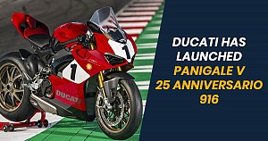 Ducati Panigale V4 25° Anniversario 916 Launched in India, Priced INR 54.90 lakh