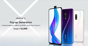 The new arrival in India: Realme X with Snapdragon 710 SoC and a pop-up selfie shooter