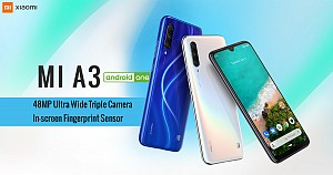 Xiaomi Launches Mi A3 with Triple Rear Camera Setup and Snapdragon 665 Soc Processor
