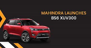 XUV300 BS6, Mahindra's First BS6 Vehicle Launched at Rs 8.30 Lakh