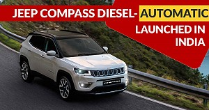 Jeep Compass Diesel-Automatic Launched in India: Price, Specifications