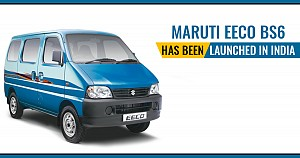 Maruti Eeco BS6 starting at Rs. 3.81 Lakhs Launched in India