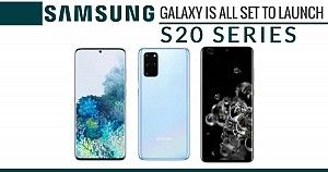 Samsung Galaxy is all set to launch S20 series
