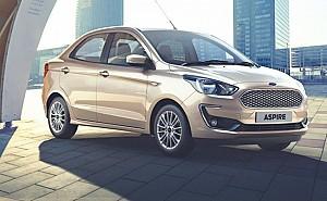 Ford Aspire 1.2L Petrol Titanium Blu MT
