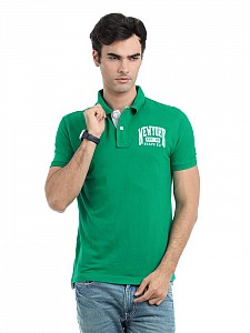Locomotive men green t-shirt001