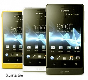 Sony Xperia Go Front