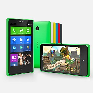 Nokia X Front,Back And Side