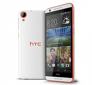 HTC Desire 820 Monarch Orange Front,Back And Side