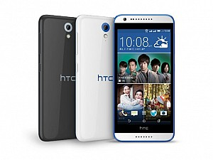 HTC Desire 620 Dual SIM Front,Back And Side