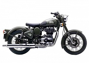 Royal Enfield Classic Battle Green Photo