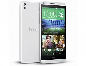 HTC Desire 816G (2015) White Front,Back And Side
