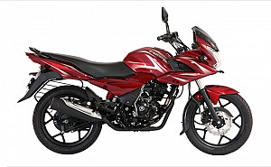 Bajaj Discover F150 Wine Red