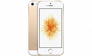 Apple iPhone SE Gold Front And Back