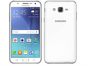 Samsung Galaxy J7 (2016) White Front and Back