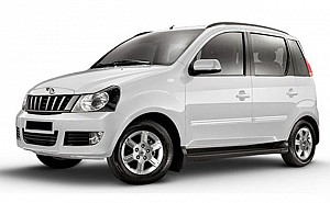 Mahindra Quanto C6 Diamond White