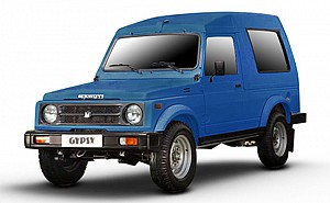 Maruti Gypsy King Soft Top MPI Dolphin Blue