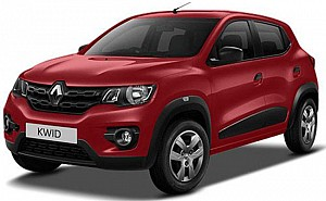 Renault KWID 1.0 RXT Optional Fiery Red