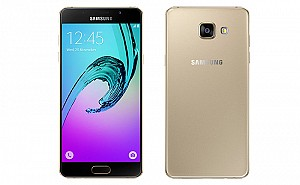 Samsung Galaxy A5 (2016) Gold Front And Back