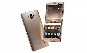 Huawei Mate 9 Champagne Gold Front,Back And Side