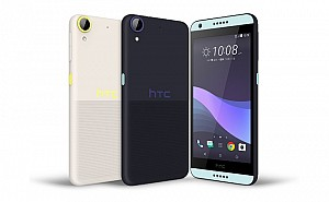 HTC Desire 650 Front,Back And Side