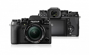 Fujifilm X-T2 Front side and Back side image