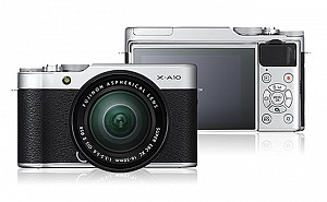 Fujifilm X-A10 Front And Back