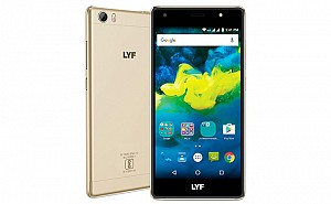 Lyf Water F1S Gold Front,Back And Side