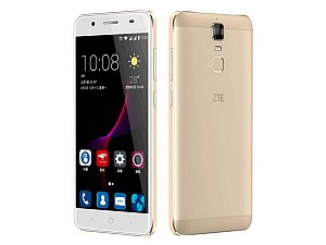 ZTE Blade A2 Plus Gold Front,Back And Side