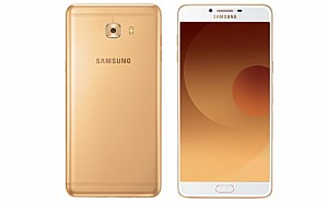Samsung Galaxy C9 Pro Gold Front And Back