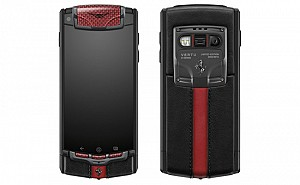 Vertu Ferrari Limited Edition Front And Back