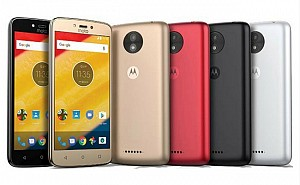 Motorola Moto C Plus Front, Back And Side