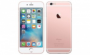 Apple iPhone 6S Rose Gold Front and Back