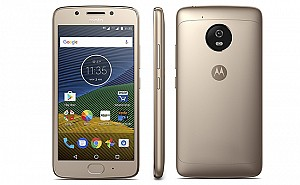 Motorola Moto G5 Fine Gold Front And Side