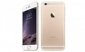 Apple iPhone 6 Gold Front,Back And Side