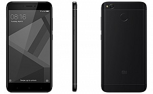 Xiaomi Redmi 4 Black Front,Back And Side