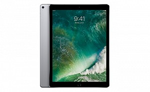 Apple iPad Pro (12.9-inch) 2017 Wi-Fi Space Gray Front and Back