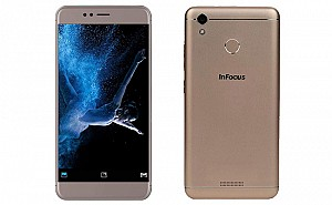 InFocus Turbo 5 Gold Front and Back